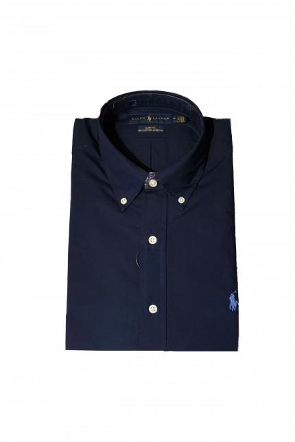 Camicia Ralph Lauren in cotone blu