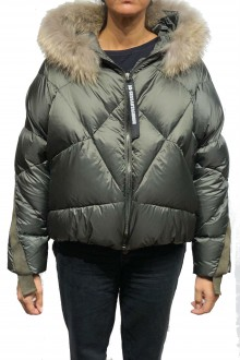 AS-65 Down jacket sage green