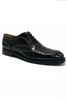 Black Church's  Burwood brogue with studs