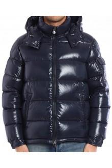 Down jacket Maya Moncler  blue