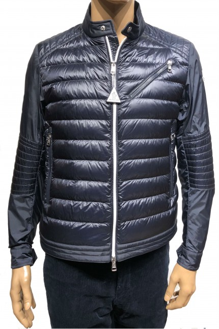 Piumino Andrieux Moncler blu