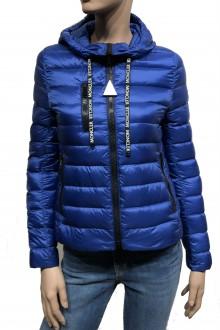 Cobalt blue Moncler Seoul down jacket