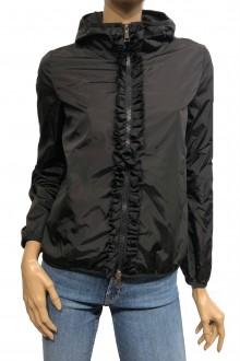 Black Moncler nylon jacket Vivre