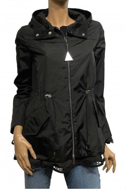 Black Moncler nylon jacket Loty