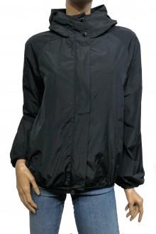 Black Moncler Asuncion nylon jacket