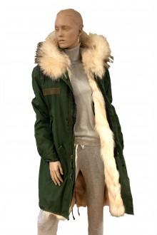 Vintage army Parka  in coyote