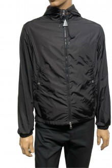 Black Moncler Grimpeurs nylon jacket
