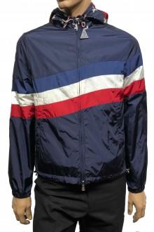 Blue Moncler Cam nylon jacket