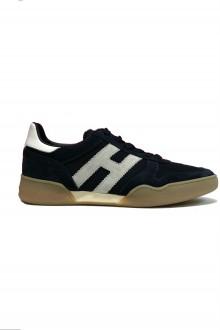 Sneakers Hogan H357 blu/bianca