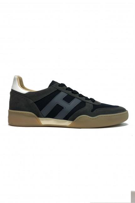 Sneakers Hogan H357 blu/grigia