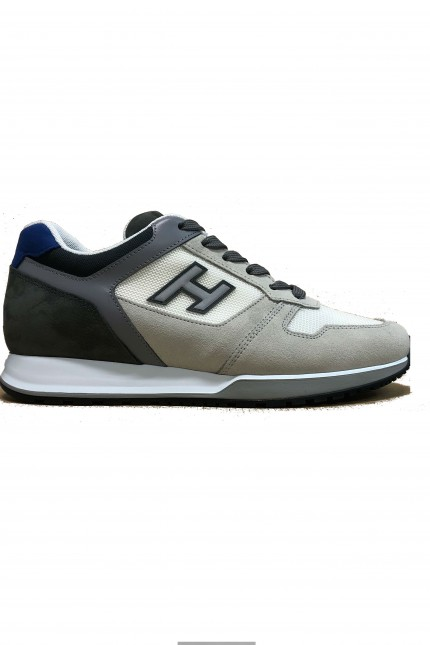 Sneakers Hogan H321 grigia/blu/bianca