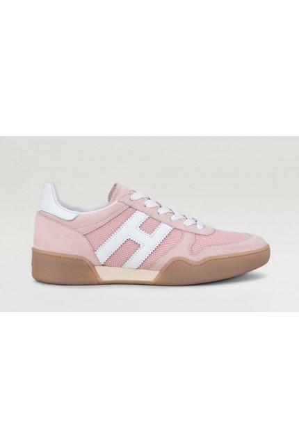 Hogan H357 pink shoes