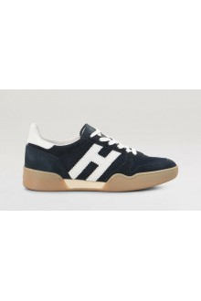 Hogan H357 blue shoes