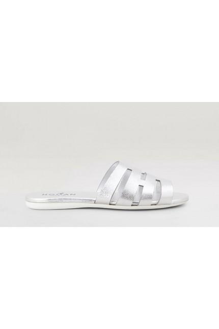 Sandalo Hogan H133 argento