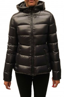 Black down jacket  Rhin Moncler