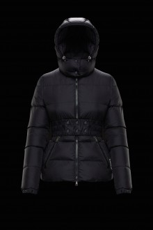Down jacket black Don Moncler