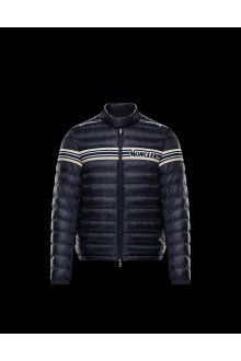 Blue Moncler Renald down jacket