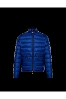Light blue Moncler Agay down jacket