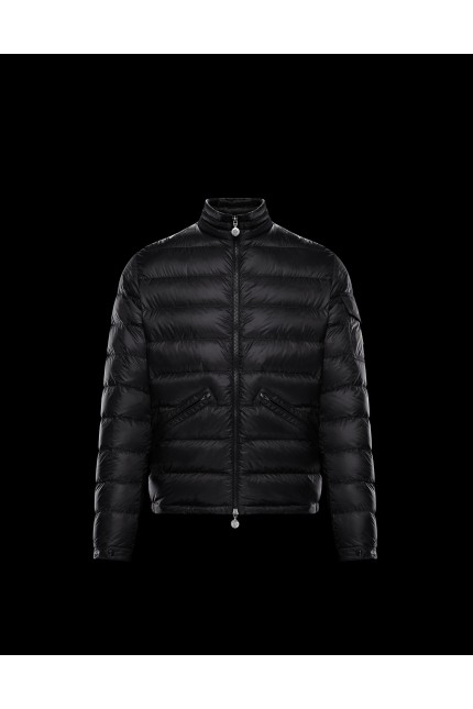 Black Moncler Agay down jacket