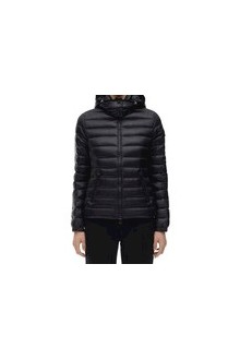 Black Moncler Bleu down jacket