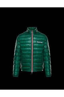 Green Moncler Petichet downjacket