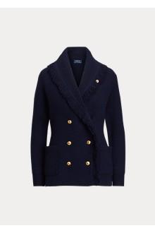 Blazer doppiopetto in lana Ralph Lauren donna