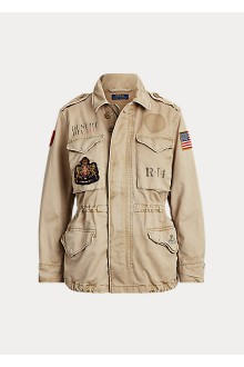 Ralph Lauren cotton sand field  jacket