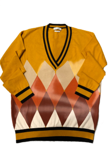 Ballantyne argyle pullover