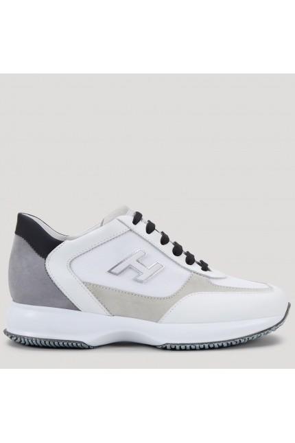 Scarpa Hogan Interactive grigio, bianco e beige