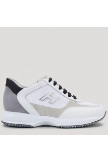 Gray, white and beige Hogan Interactive shoes