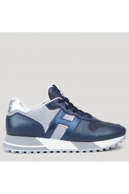 Hogan H383 blu e argento