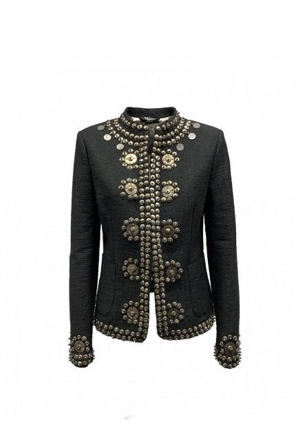 Black embroidery jacket Bazar Deluxe