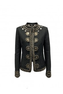 Black embroidery jacket Bazar Deluxe