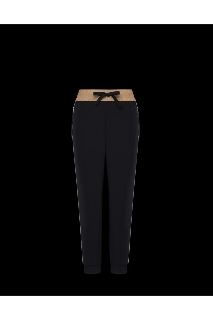 Black Moncler trouser