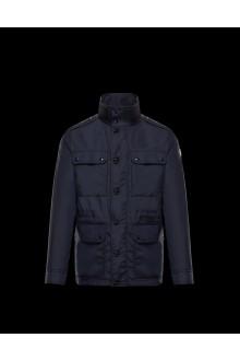Navy Moncler jacket Lez