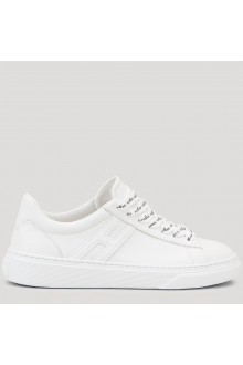 Hogan H365 white leather shoes