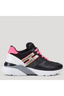 H525 black and fuxia Hogan Shoes