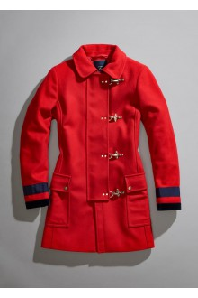 Red wool Fay coat