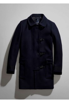 Bleu wool Fay coat