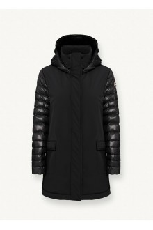 Black long jacket Colmar