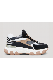 Hogan Hyperactive black, ivory, brown