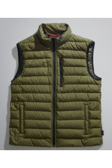 Fay green down vest