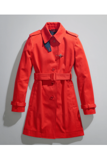 Trench Coat with Hook