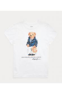 T-shirt Ralph Lauren Polo Bear bianca