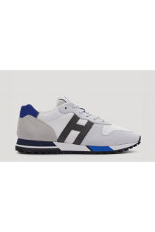 White and royal  Hogan sneakers H383