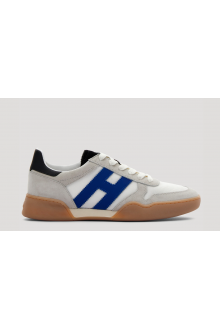 Sneakers Hogan H357 white and royal