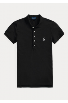 Black Ralph Lauren polo shirt for woman