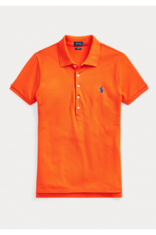 Ralph Lauren orange polo shirt for woman