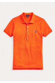 Polo da donna Ralph Lauren arancione