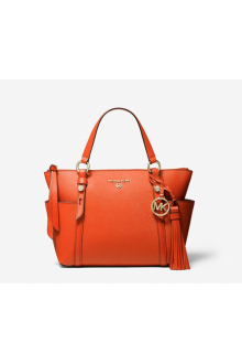 Michael Kors orange Nomad bag